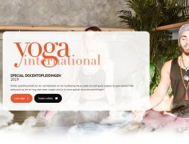Special docentopleidingen yoga international
